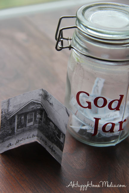 God jar and more