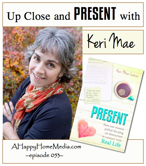 Up Close and PRESENT with Keri Mae Lamar -- Present Book Launch